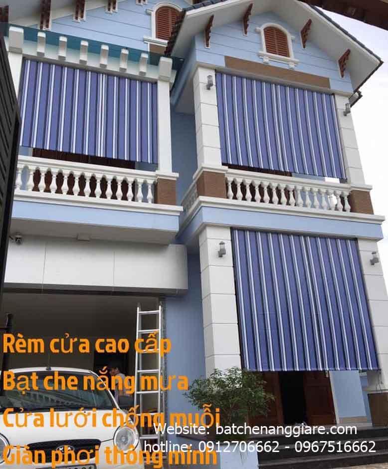 bạt che nắng mưa ban công tự cuốn tại Tỉnh Nghệ An